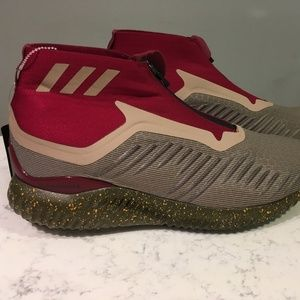 adidas Shoes - Adidas AlphaBounce Zip Collegiate Burgundy